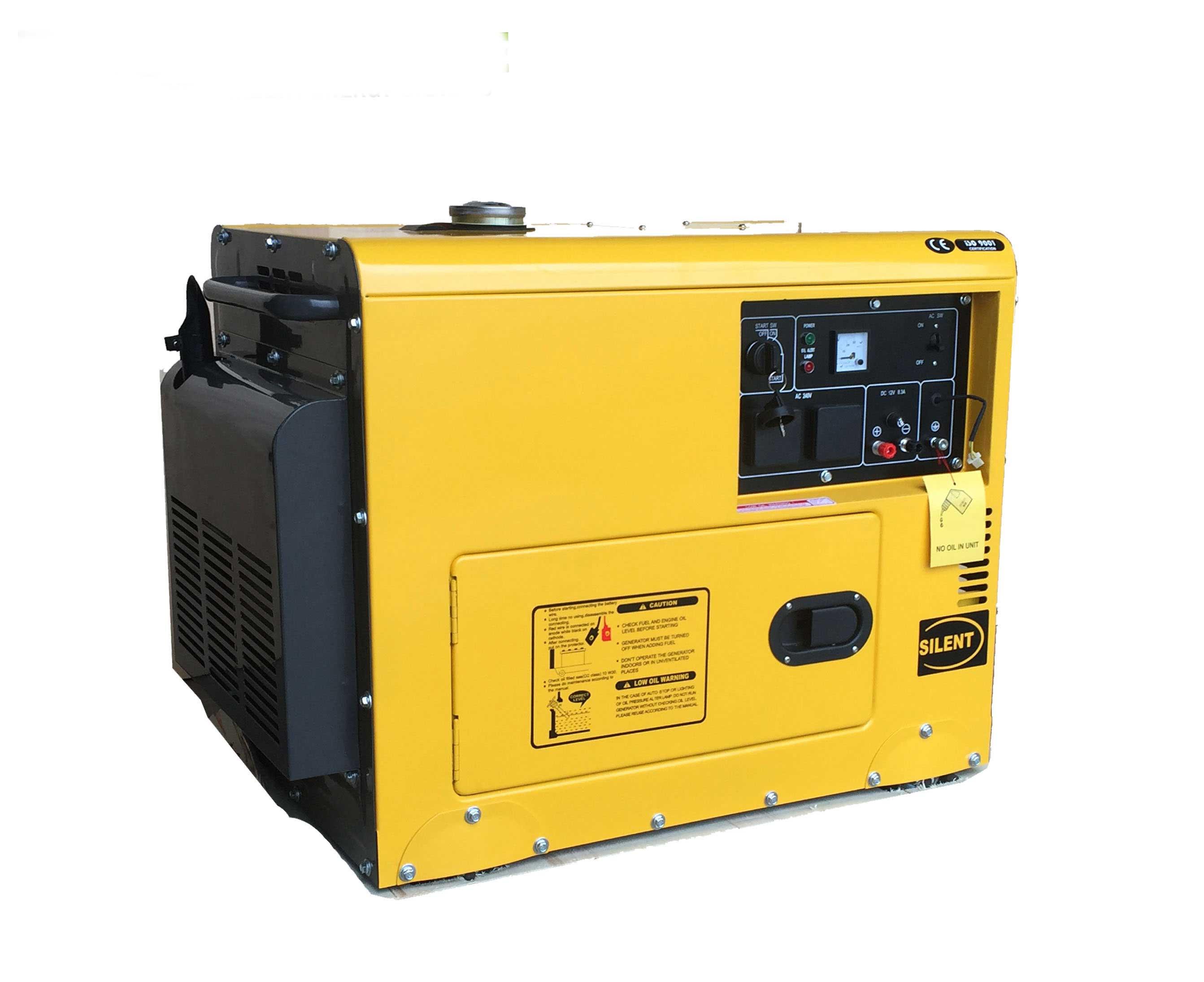 Diesel Generator modore 6 25KVA Silent Remote & 2 Wire auto